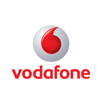 Vodafone customer logo