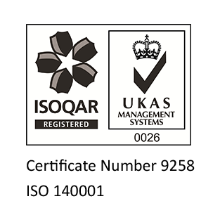 NB ISOQAR Badge for ISO 14001 Accreditation