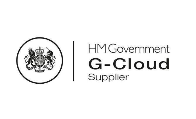 HM Government G-Cloud Supplier Logo